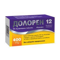 Долорен 400 мг х12 таблетки Ecopharm