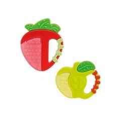 Chicco чесалка за изстудяване ябълка/ ягода 4М+