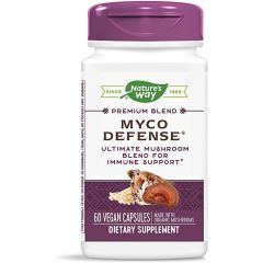 Nature's Way Myco Defense Комплекс от медицински гъби за силен имунитет х60 V капсули