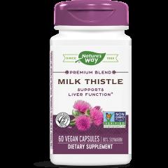 Nature's Way Milk Thistle Млечен бодил за черния дроб 295 мг х60 V капсули