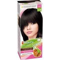 MM Beauty Colour Sense Трайна фито боя за коса без амоняк, S18 Среднощно черно
