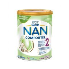 Nestle NAN Comfortis 2 Преходно мляко на прах за бебета 6-12М 800 гр