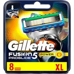 Gillette Fusion Proglide Power Резервни ножчета 8 бр