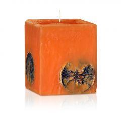 Българска роза свещ парфюмна портокал- шоколад