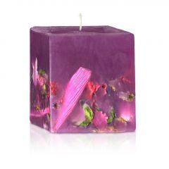 Българска роза свещ парфюмна цветна градина