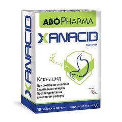 AboPharma Xanacid при стомашни киселини х10 таблетки за смучене