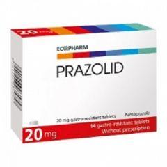 Prazolid 20 мг х14 таблетки Ecopharm