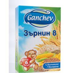 Ganchev Млечна каша Зърнин 8 6М+ 200 гр