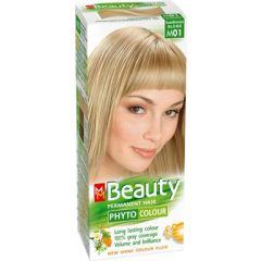 MM Beauty Phyto Colour Трайна фито боя за коса, М01 Скандинавско рус