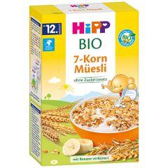 HiPP BIO 7-Korn Muesli Био мюсли 7 зърнени култури 12М+ 200 гр