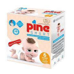 Pine Smart Умни пелени откриващи пикочни инфекции №6 16+ кг х16 бр