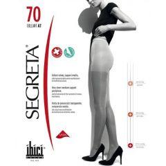 Segreta Компресионен чорапогащник Черен Размер M 70 DEN Ibici