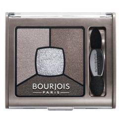 Bourjois Smoky Stories Quad Eyeshadow Palette Дълготрайни опушени сенки за очи в четири цвята N05 Good Nude