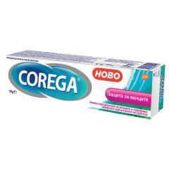 Corega Защита за венците Фиксиращ крем за зъбни протези 40 гр