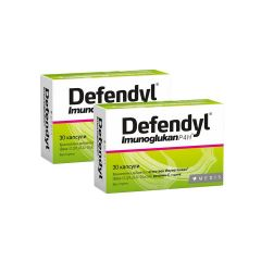 Defendyl Imunoglukan P4H за висок имунитет 100 мг х30 капсули Medis 1+1 Промоция
