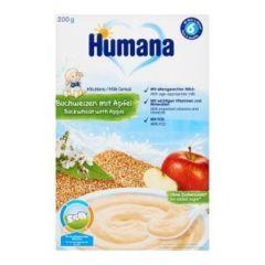 Humana млечна каша елда и ябълка 6М+ 200 гр