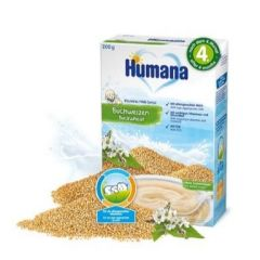 Humana млечна каша с елда 4М+ 200 гр
