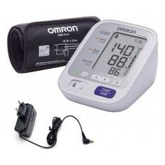 Апарат за измерване на кръвно налягане Omron M3 Comfort + адаптер