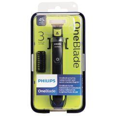 Philips OneBlade Хибриден тример за подстригване, оформяне и бръснене QP2520/20