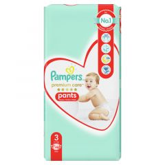 Пелени - гащички Pampers Premium Care Pants Размер 3 48 бр
