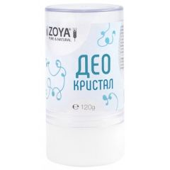 Zoya Pure & Natural Део Кристал 120 гр