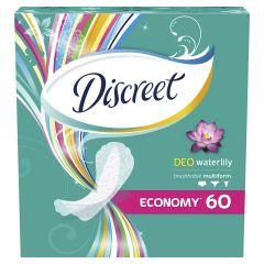 Discreet Deo waterilily Ежедневни дамски превръзки водна лилия 60 бр