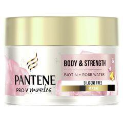 Pantene Pro-V Miracles Възстановяваща маска за коса с розова вода и биотин 160 мл