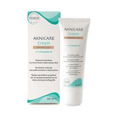 Synchroline Aknicare Оцветен крем за лице за лечение на акне, цвят Clair 50 мл