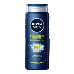 Nivea Men Power Fresh Душ-гел за мъже 500 мл