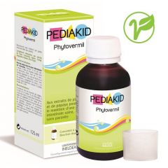 Pediakid Phytovermil Сироп за деца за поддържане на здрави черва без паразити 125 мл