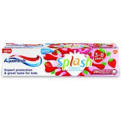 Aquafresh Splash Детска паста за зъби ягода 3-8 г 50 мл