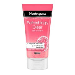 Neutrogena Refreshingly Clear Ексфолиант за лице 150 мл