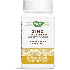 Nature's Way Zinc Echinacea & Vitamin C 60 таблетки за смучене