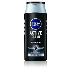 Nivea Men Active Clean Шампоан за мъже с активен въглен 250 мл