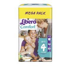 Пелени Libero Comfort Размер 4 Mega Pack 82 бр