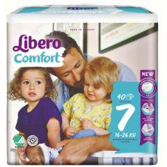 Пелени Libero Comfort Размер 7 Jumbo 40 бр