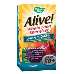 Nature's Way Alive Men's 50+ Алайв мултивитамини за мъже 50+ 30 таблетки