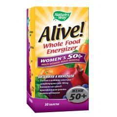 Nature's Way Alive Women's 50+ Алайв мултивитамини за жени 50+ 30 таблетки