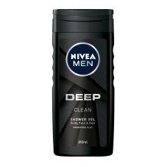Nivea Men Deep Clean Душ-гел за мъже с глина 250 мл