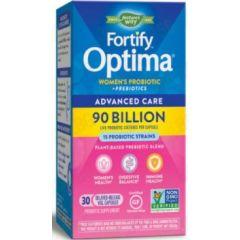 Nature's Way Fortify Optima Women's Probiotic + Prebiotics 90 милиарда активни пробиотици + пребиотици за жени 50+ 30 капсули