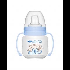 WEE BABY Неразливаща се чаша с дръжки 125 мл
