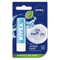 Nivea Hydro Care Балсам за устни SPF15 4.8 гр