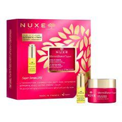 Nuxe Merveillance Expert Коригиращ крем за нормална кожа 50 мл + Nuxe Super Serum Универсален противостареещ серум за лице 5 мл Комплект