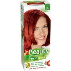 MM Beauty Phyto Colour Трайна фито боя за коса, М11 Гранатово червен