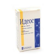 Идеос калций и витамин D 500 мг/ 400 IU х 30 таблетки Innotech