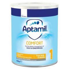 Aptamil Comfort 1 Адаптирано мляко против колики и запек 0-6 месеца 400 гр
