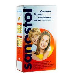 Sanostol Мултивитаминен сироп за деца и възрастни 230 мл Takeda