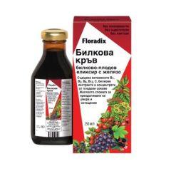 Floradix Билкова кръв сироп 250 мл Salus