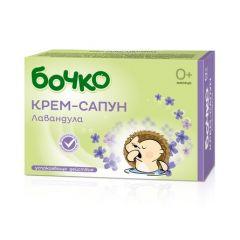 Бочко Крем-сапун с лавандула  0+ 75 гр