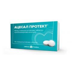 Ацесал протект 100 мг х40 таблетки Chemax Pharma